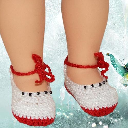 Chaussures poupée Modes et Travaux - Françoise