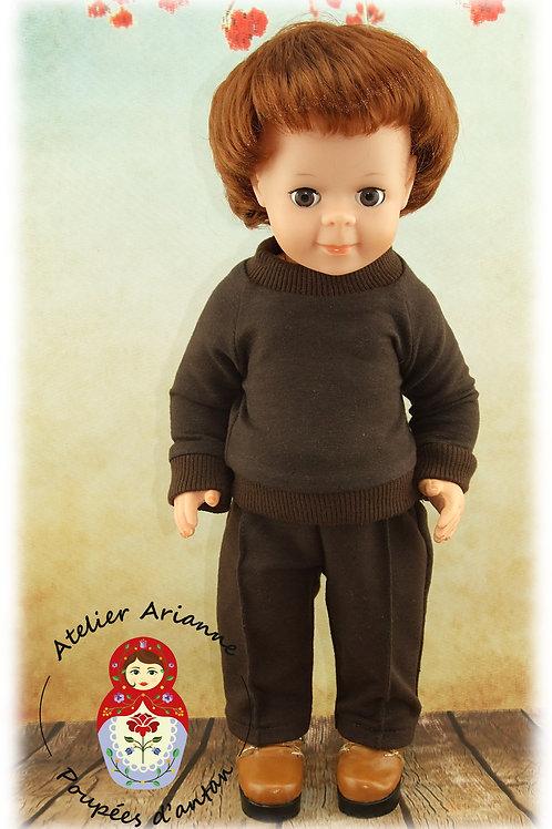 Janvier 1972 Tenue pour poupée Jean-Michel de Modes et Travaux
