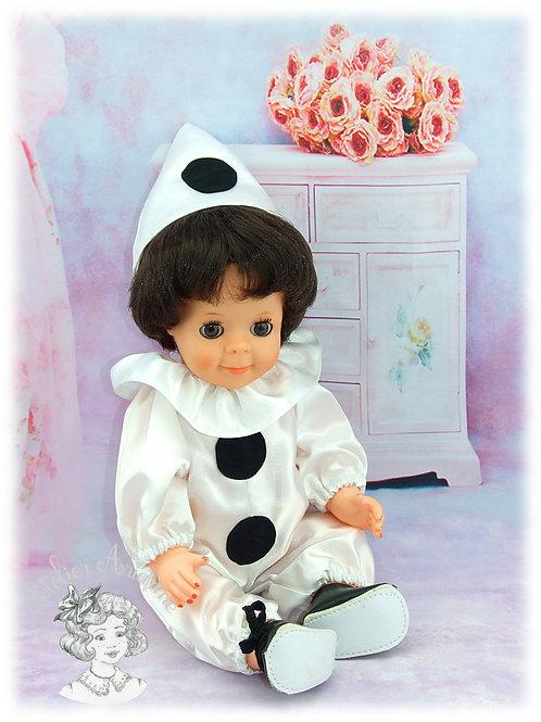 Février 1982-Tenue pour poupée Michel de Modes et Travaux