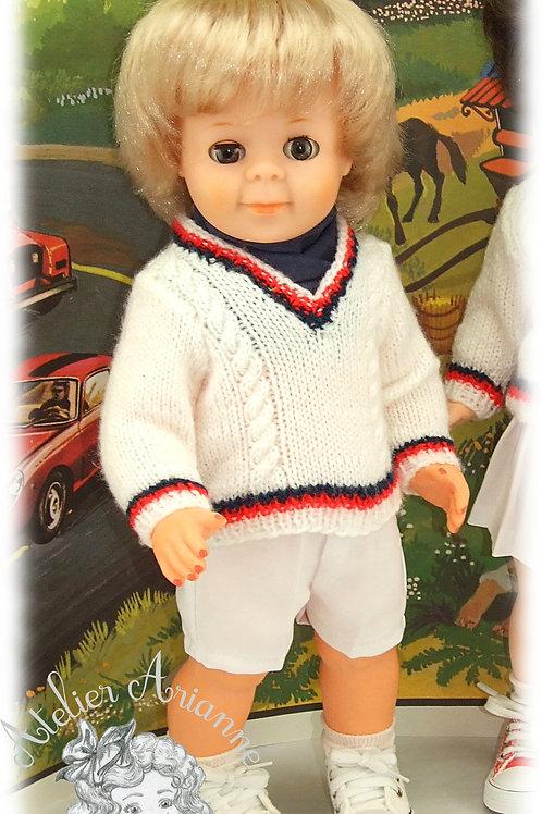 Août 1973 Tenue pour poupée Jean-Michel Modes et Travaux