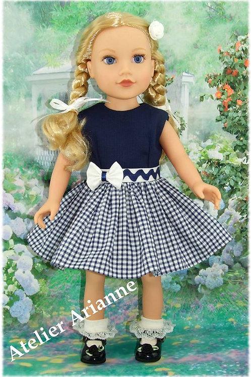 Tenue Lou pour poupée Journey Girl ,Raynal, Gotz,  Kids, Zwergnase 46-50 cm