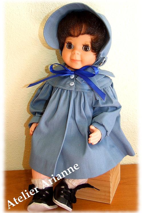 Tenue pour poupée Michel Modes et Travaux Mai 1957