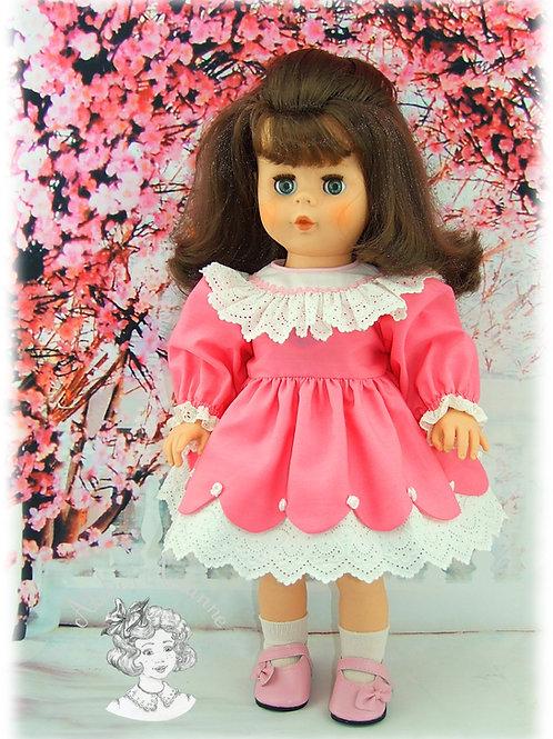 Adèle-tenue poupée Kattie de Raynal ou poupées de Modes et Travaux