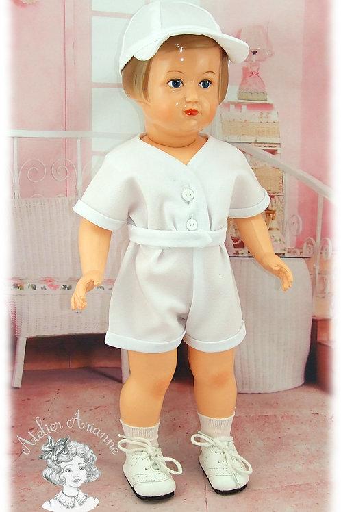 Mai 1954 Tenue pour poupée Françoise de Modes et Travaux