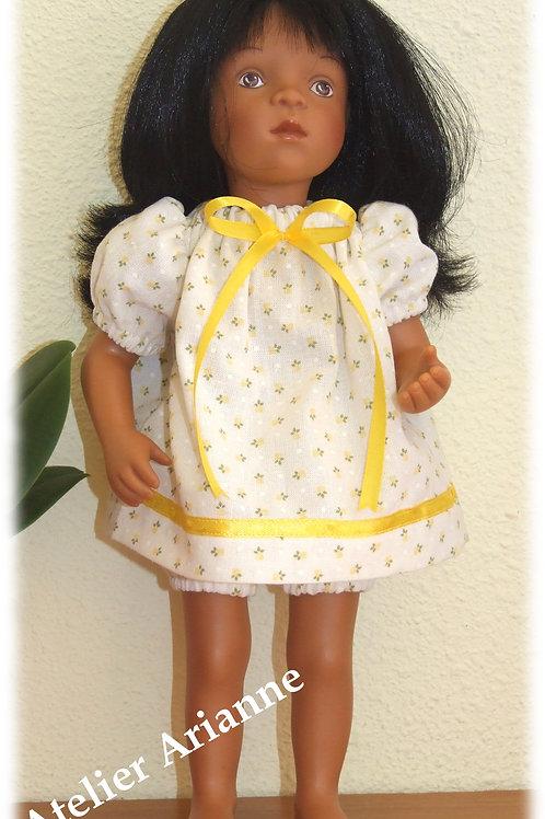 Tenue Camomille pour poupée Corolle, Paola Reina, Minouche 33 cm