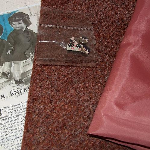 Kit 107 couture Modes et Travaux pour Marie-Françoise ,  Novembre 1961