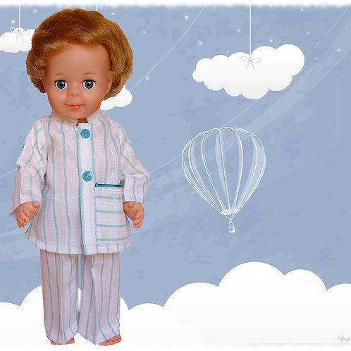 Tenue pour poupée Jean-Michel Modes et Travaux Septembre 1976