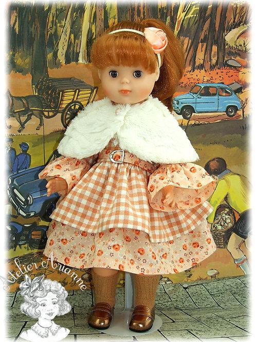 Modèle exclusif -Tenue Emeline pour poupée Marie-Françoise