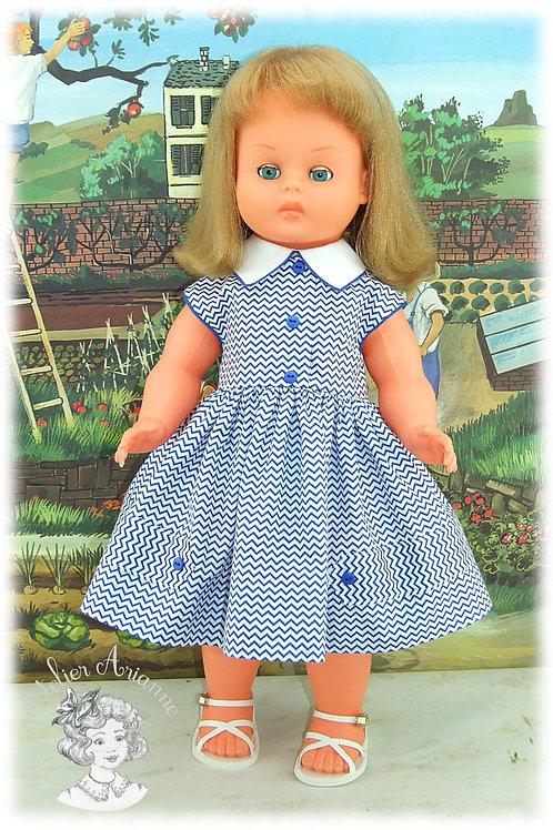 Tenue pour poupée GéGé - Juin 1957