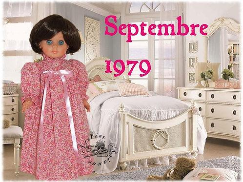 Tenue M&T pour Françoise Septembre 1979
