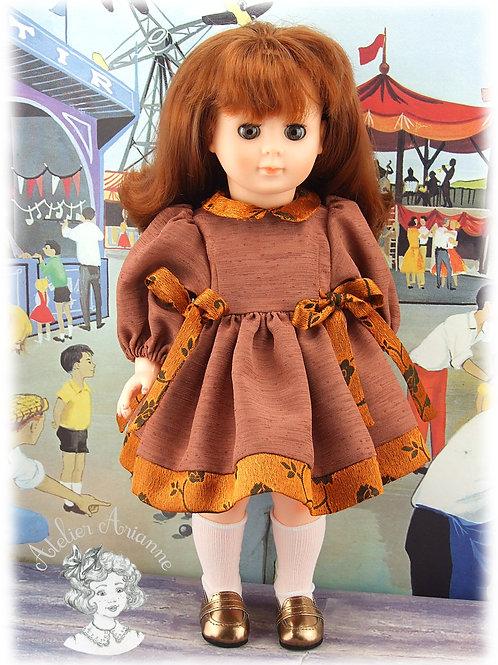 Décembre 1998 Tenue pour poupée Marie-Françoise de Modes et Travaux