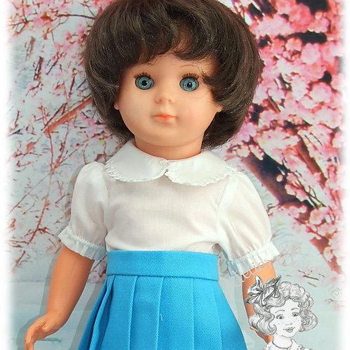 Chemise pour poupée Modes et Travaux  Marie-Françoise