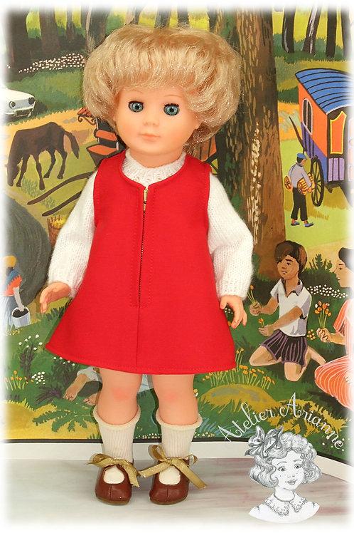 Avril 1968 Tenue pour poupée Marie-Françoise Modes et Travaux