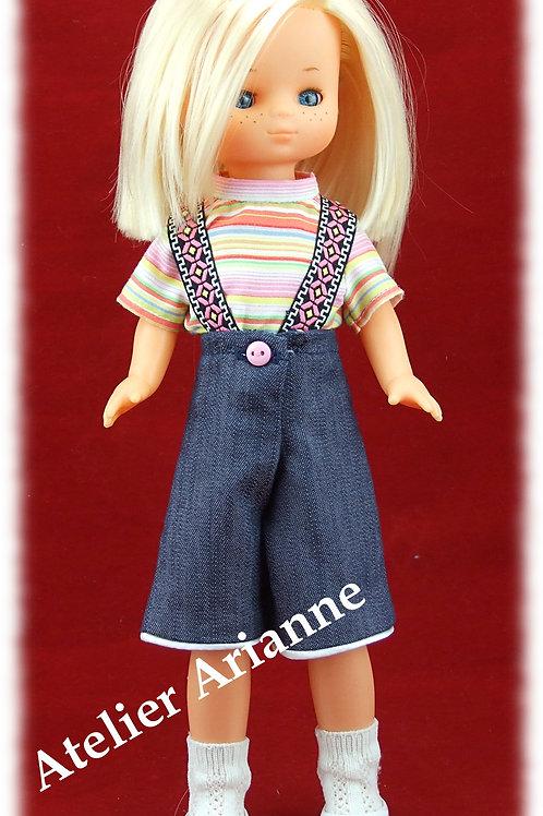 Repro Tenue Alejandra pour poupée Lesly de Famosa 30-31 cm