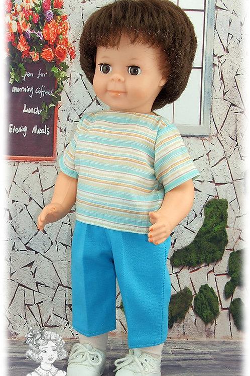 Juin 1984-Tenue pour poupée Jean-Michel de Modes et Travaux