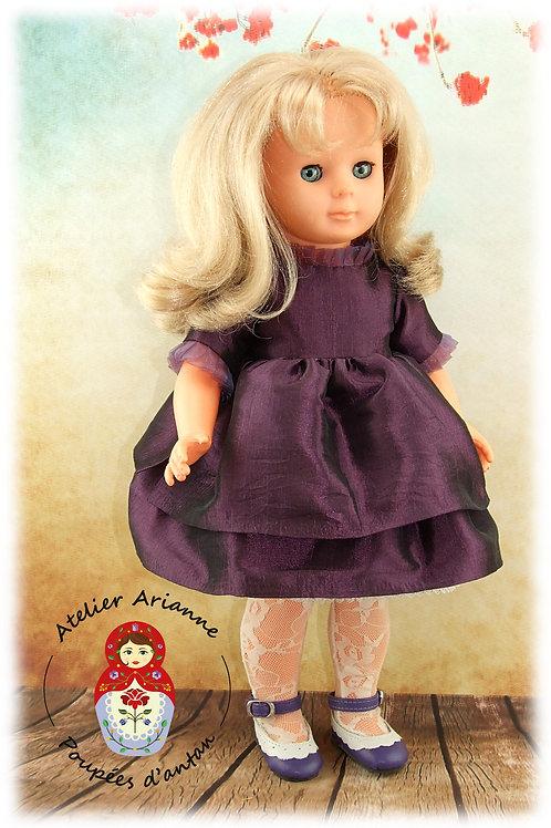 Décembre 2002 Tenue pour poupée Marie-Françoise,  Modes et Travaux