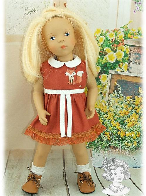 Mya -Tenue pour poupée Minouche, Corolle ou Bombon
