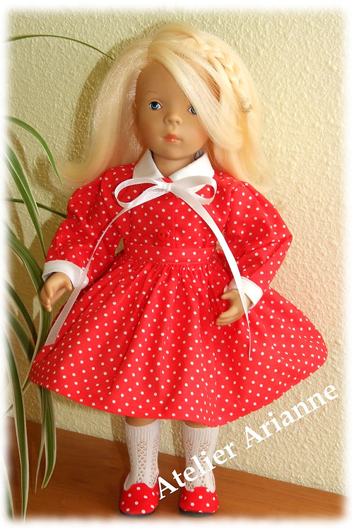 Tenue Mandarine pour poupée Corolle ou Paola Reina, Minouche 33 cm