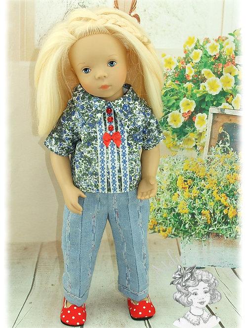 ASTER -Tenue pour poupée Minouche de Petitcollin