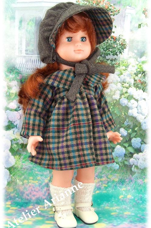Tenue Bettina pour  poupées 40-42 cm et Emilie M et T