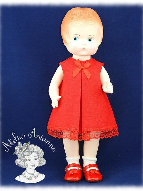 Cécile tenue pour poupée Meadow 39 cm ou Patsy 35 cm