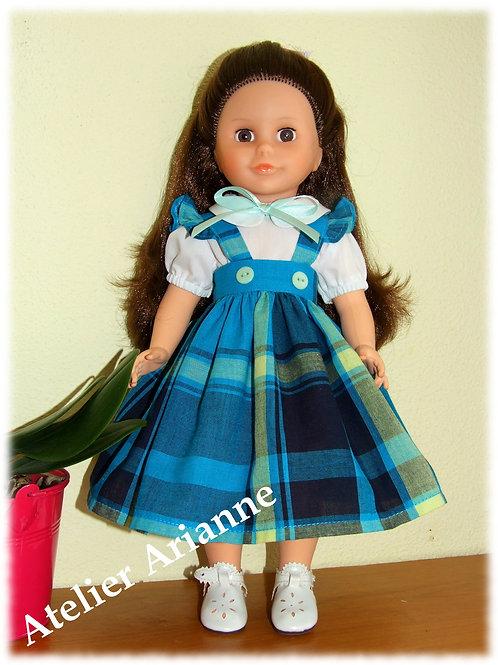 Tenue Ilona pour poupées Modes et Travaux Marie-Françoise, Louise