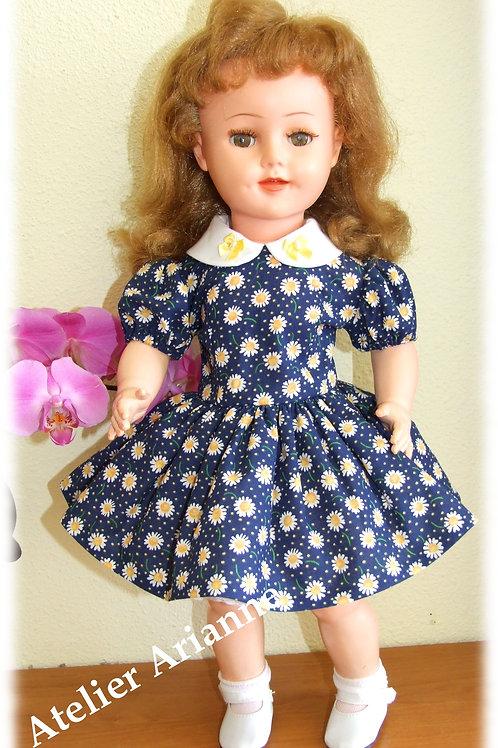 Tenue Margot pour poupée GéGé, Raynal, Bella et d'autres de 45-48 cm
