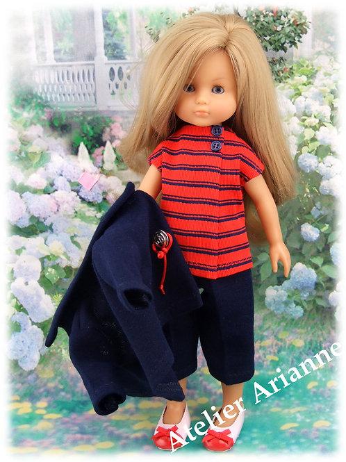 Tenue Lidia pour poupées : Bella, Little Darling ,Chérie de Corolle 33 cm