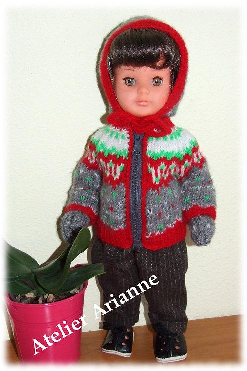Tenue pour poupée Marie-Françoise Modes et Travaux Septembre 1955