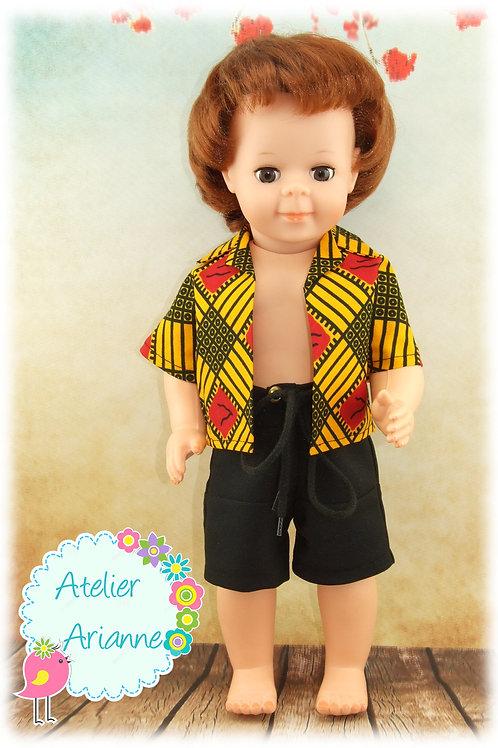 Juillet 1983 Tenue pour poupée Jean-Michel de Modes et Travaux