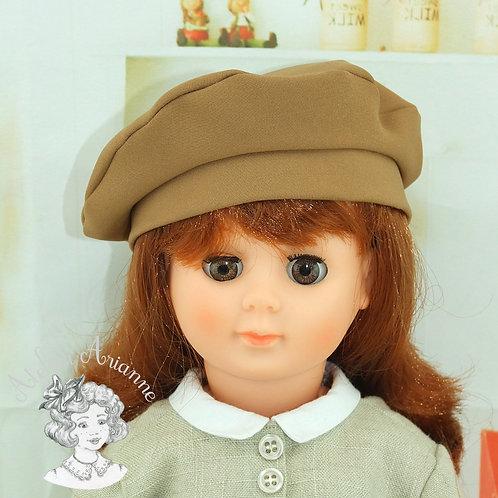 Béret pour poupées de Modes et Travaux