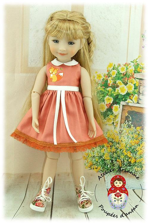 Mya -Tenue pour poupée Ruby-Red