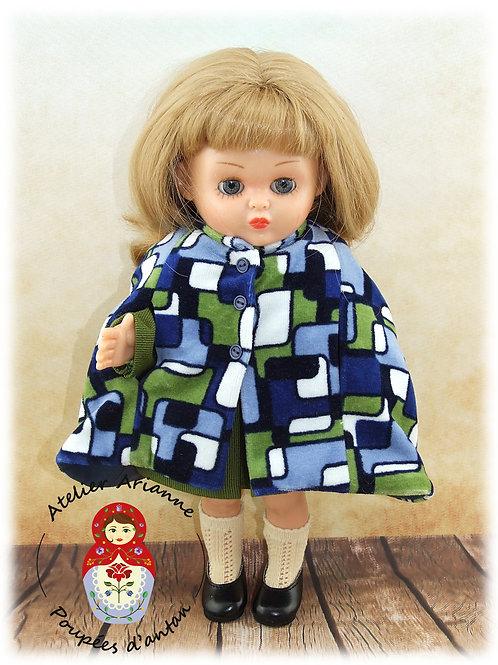 GIULIA - cape - tenue pour poupée Bombon