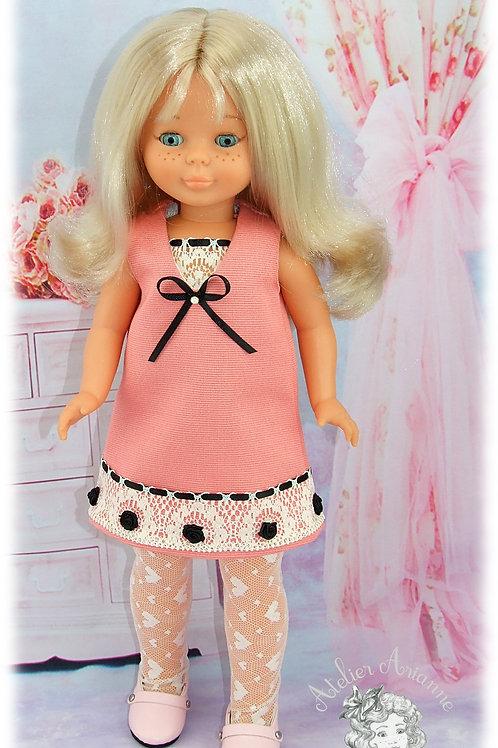 Robe Ursula pour poupées Nancy de Famosa, Vidal Rojas, Minouche ou Vestida