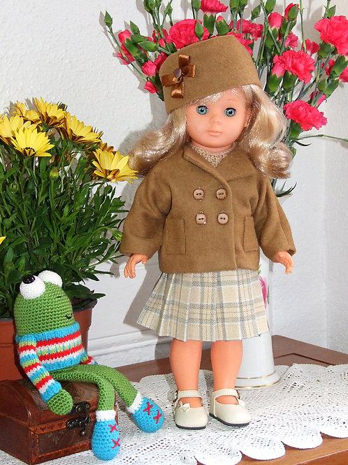 Tenue pour poupée Marie- Françoise Modes et Travaux Septembre 1951