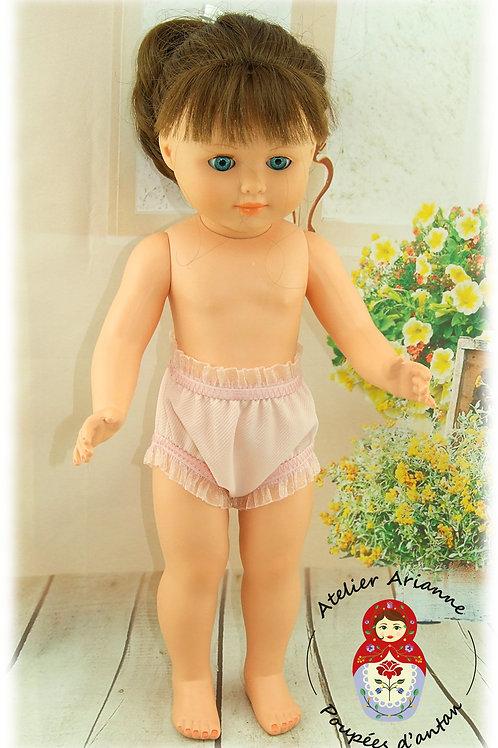 Culotte rose pour poupée Marie-Françoise de Modes et Travaux