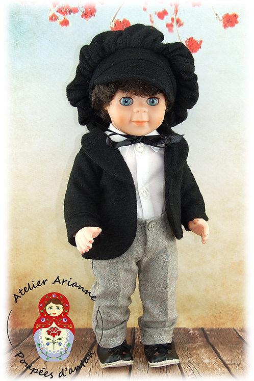 Février 1980 Tenue pour poupée Jean-Michel Modes et Travaux