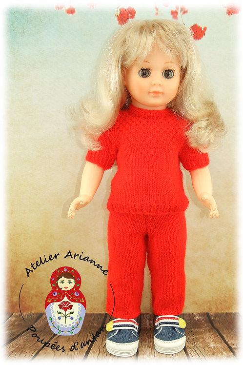 Janvier 1961 pour poupée Marie-Françoise