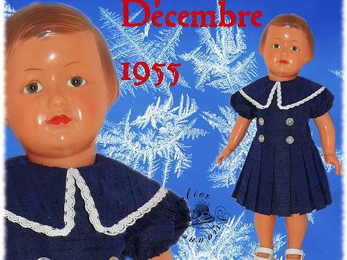 Tenue M&T pour Françoise Décembre 1955