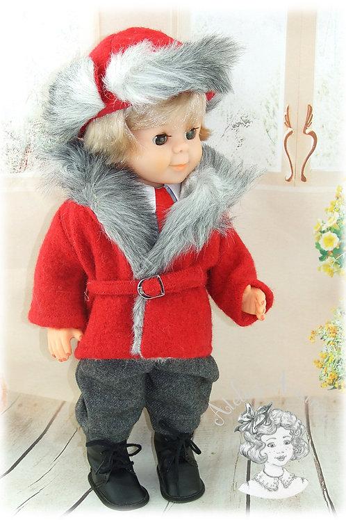 Tenue pour poupée Jean-Michel de Modes et Travaux-Novembre 1982