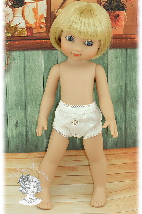 Culotte pour poupées Ann-Estelle et autres de 22-25 cm