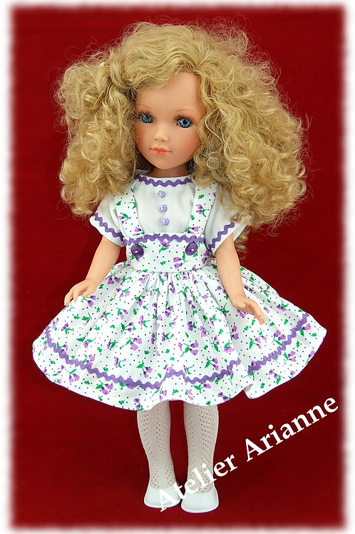 Tenue Ninette pour poupées: Vidal, Nancy, Berbesa 40 cm