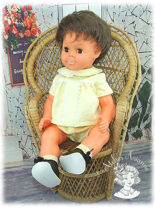 Octobre 1965-Tenue pour poupée Michel de Modes et Travaux