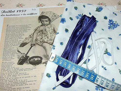 Kit 75 couture Modes et Travaux Françoise Juillet 1957