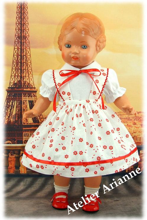 Tenue Anne-Marie pour poupées : Maru and Friends, Gotz, Schildkrot 46 cm
