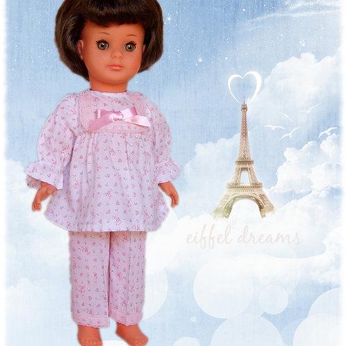 Tenue pour poupée Marie-Françoise Modes et Travaux Septembre 1976