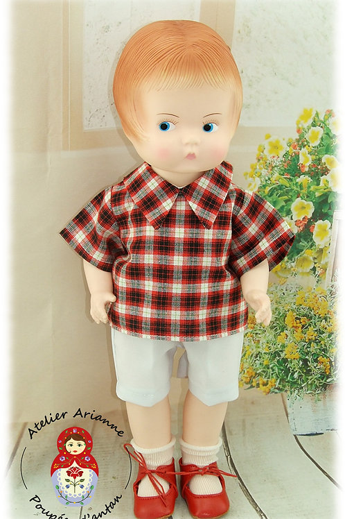 Tenue MARIUS pour poupée Patsy ou Skippy de 36 cm