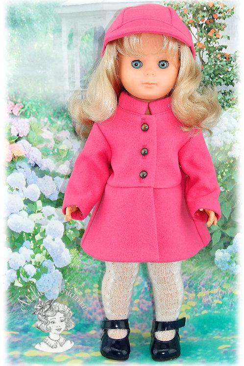 Novembre 1970-Tenue pour poupée Marie-Françoise de Modes et Travaux