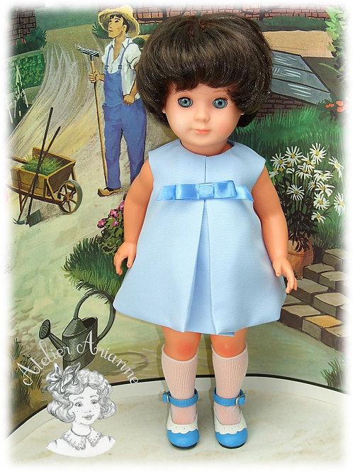Octobre 1965-Tenue pour poupée Marie-Françoise de Modes et Travaux