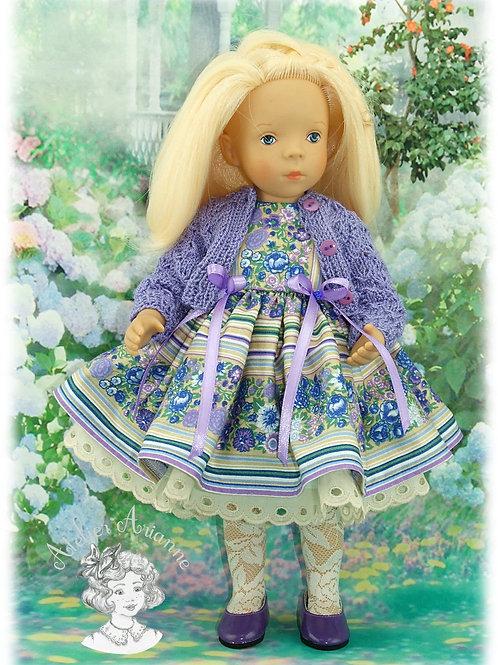 Violaine -tenue pour poupées Minouche et Bombon